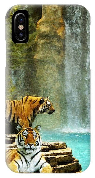 Two Tigers IPhone Case