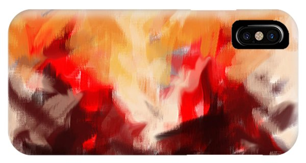 Two To Tango Abstract IPhone Case