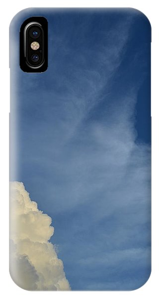 Two Tone Clouds 9384 IPhone Case