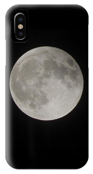 Two-tone Gray Moon IPhone Case