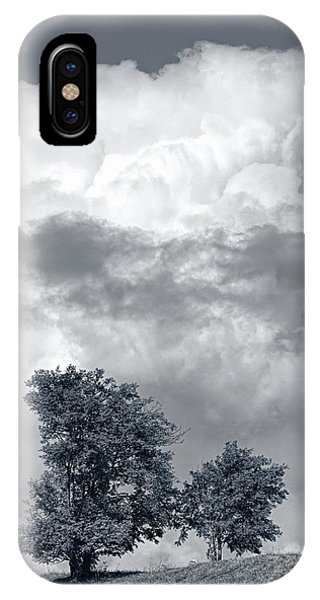 Two Trees #9249 IPhone Case