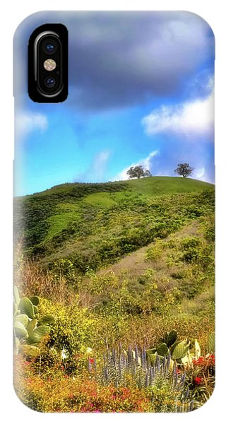 Two Trees In Spring IPhone Case