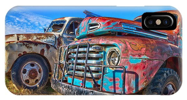 Two Trucks IPhone Case