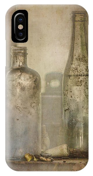 Two Vintage Bottles IPhone Case