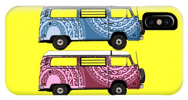 Two Vw Vans IPhone Case