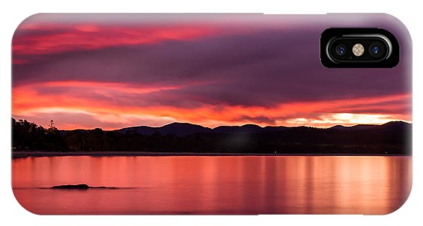 Twofold Bay Sunset IPhone Case
