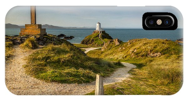 Twr Mawr Lighthouse IPhone Case