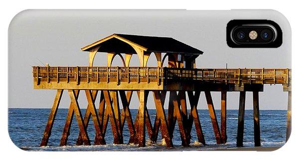 Tybee Pier IPhone Case