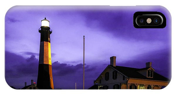 Tybee Purple Haze IPhone Case