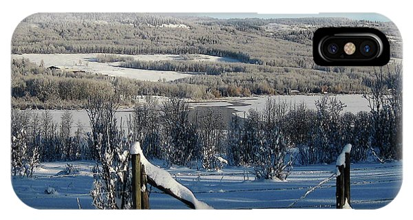 Tyee Lake From Hi-road, Winter IPhone Case