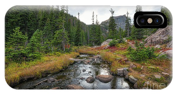 Bear Creek iPhone Case - Tyndall Creek In The Rocky Mountains  by Michael Ver Sprill