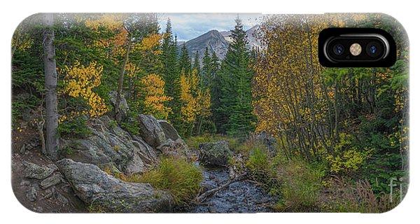 Bear Creek iPhone Case - Tyndall Creek Panorama  by Michael Ver Sprill
