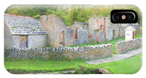 Dorset iPhone Case - Tyneham Village by Roy Pedersen