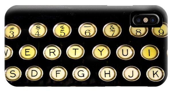 Typewriter IPhone Case