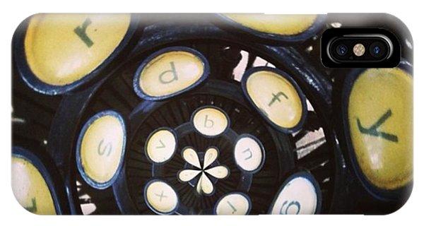 Steampunk iPhone Case - Typewriter Key Rose by Heather Classen