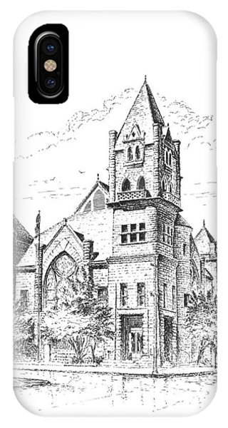 Tyrrell Historical Library IPhone Case