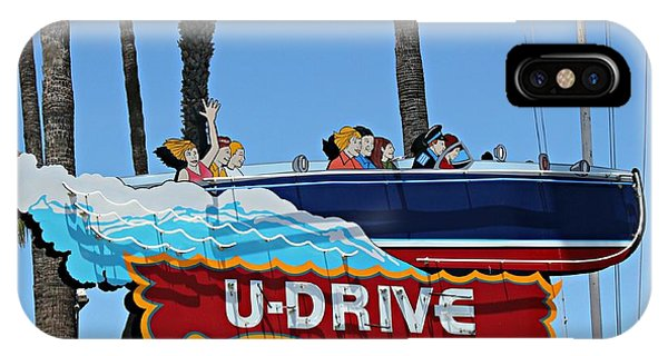 U-drive Boat Sign IPhone Case