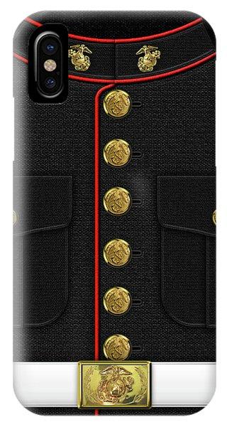 U S M C Dress Uniform IPhone Case