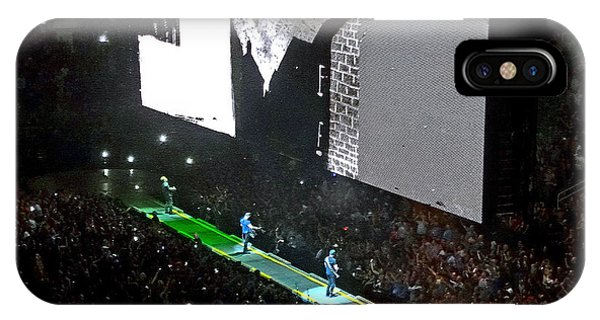 U2 Innocence And Experience Tour 2015 Opening At San Jose. 4 IPhone Case