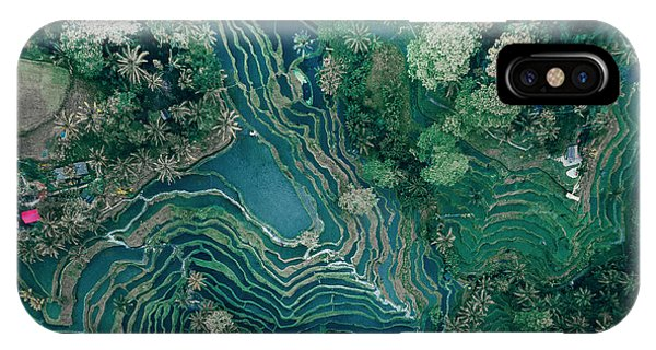 Ubud Rice Terrace IPhone Case