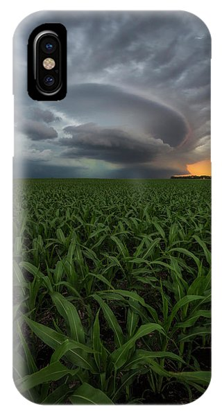 Middle Of Nowhere iPhone Case - UFO by Aaron J Groen