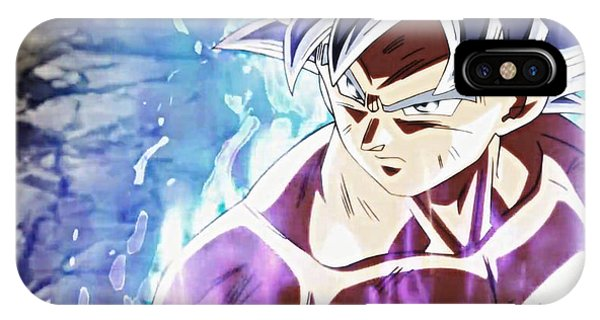 Frieza iPhone Case - Ultra Instinct Mastered - Silver by Kashmiri Lal
