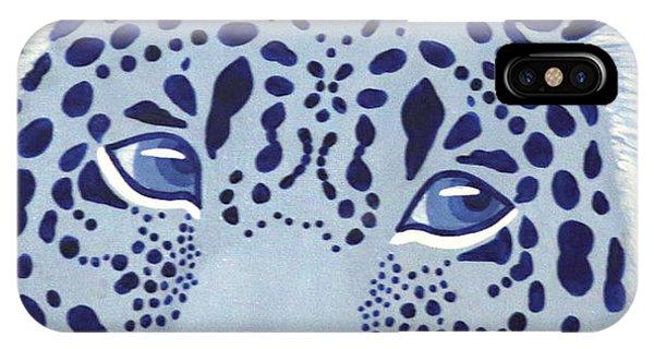 Ultramarine Jaguar IPhone Case