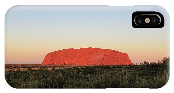 Uluru At Sunset IPhone Case