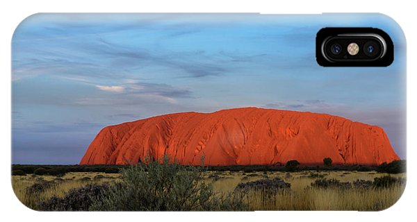 Uluru Sunset 03 IPhone Case