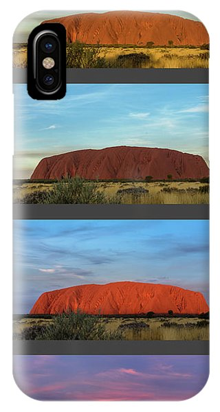 Uluru Sunset IPhone Case