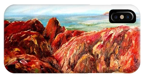 Uluru Viewed From Kata Tjuta IPhone Case