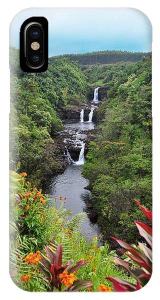 Umauma Falls Hawaii IPhone Case