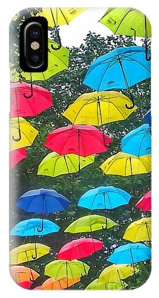 Umbrella Sky 3 IPhone Case