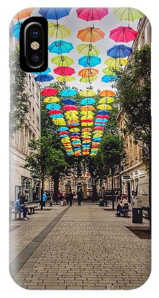 Umbrella Sky IPhone Case