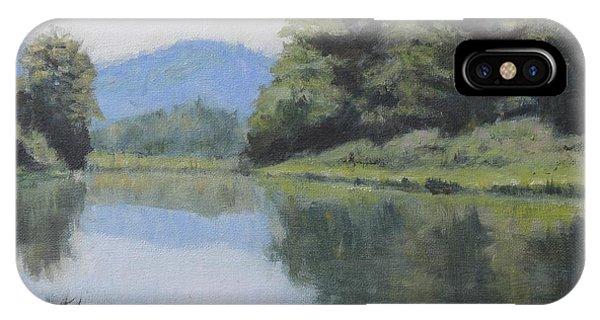 Umpqua River IPhone Case