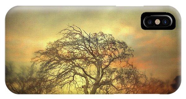 Surrealistic iPhone Case - Un Dernier Crepuscule by Zapista Zapista