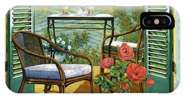 Romantic iPhone Case - Un Vaso Di Rose by Guido Borelli