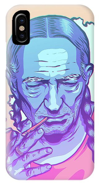 Illustration iPhone Case - Uncloudy Day by Miggs The Artist