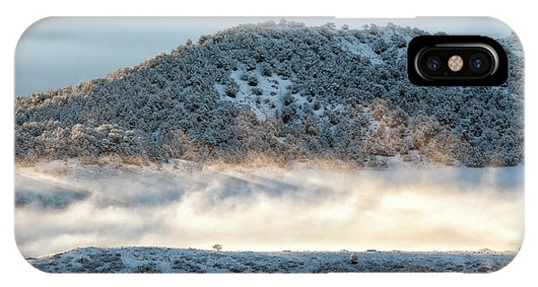 IPhone Case featuring the photograph Uncompaghre Valley Fog by Denise Bush