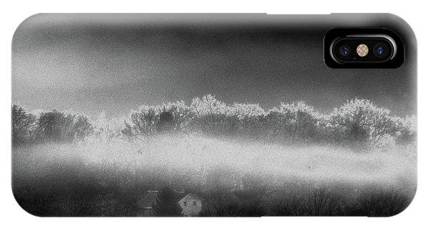Under A Cloud IPhone Case