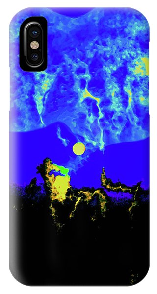 Under A Full Moon IPhone Case
