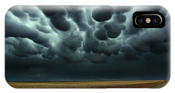 Under A Mammatus Sky IPhone Case