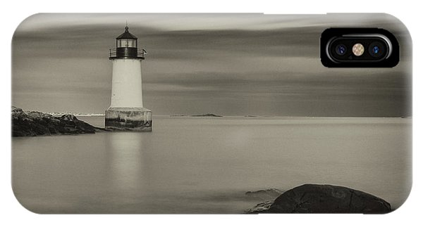 IPhone Case featuring the photograph Under A Pale Grey Sky by Brian Hale
