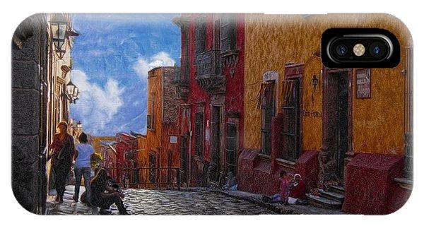 Under A Van Gogh Sky IPhone Case