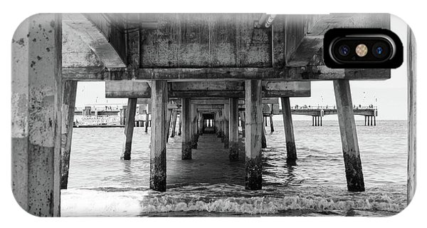 Under Belmont Veterans Memorial Pier IPhone Case