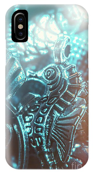 Seahorse iPhone Case - Under Blue Seas by Jorgo Photography - Wall Art Gallery