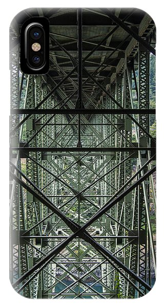 Whidbey iPhone Case - Under Deception Pass Bridge by Pelo Blanco Photo