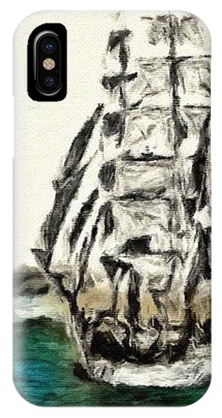 iPhone Case - Under Full Canvas by Blair Stuart
