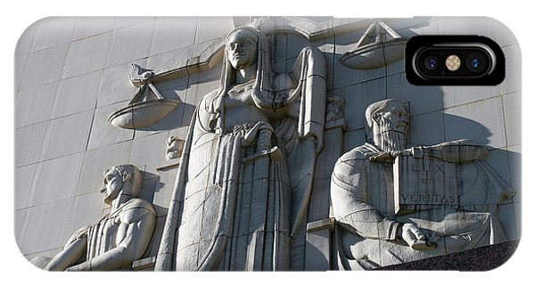 Under Scales Of Justice IPhone Case