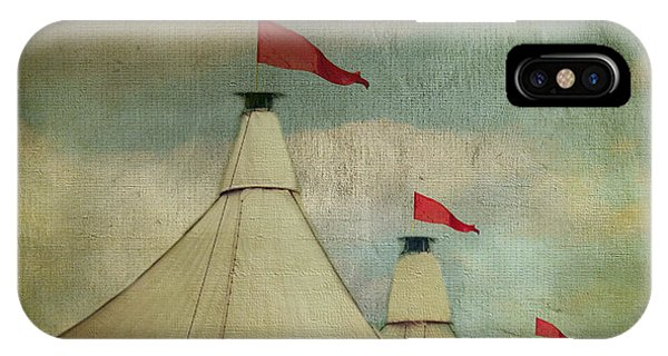 Funfair iPhone Case - Under The Big Top by AJ Yoder